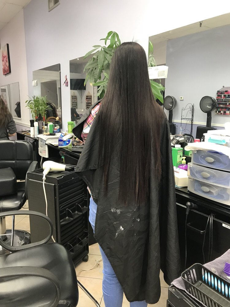 Japanese Hair Straightening And Highlights At The Same Day Yelp