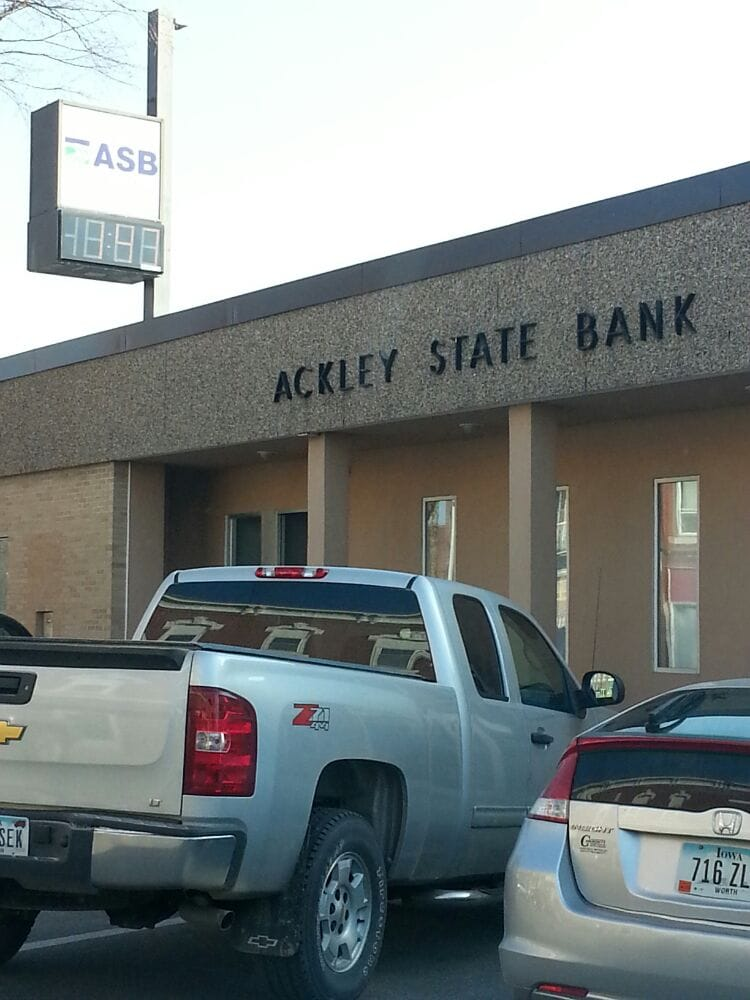 Ackley State Bank: 650 Main St, Ackley, IA
