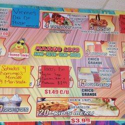 Mango Loco Paleteria Y Fruteria Desserts 1320 W Main St