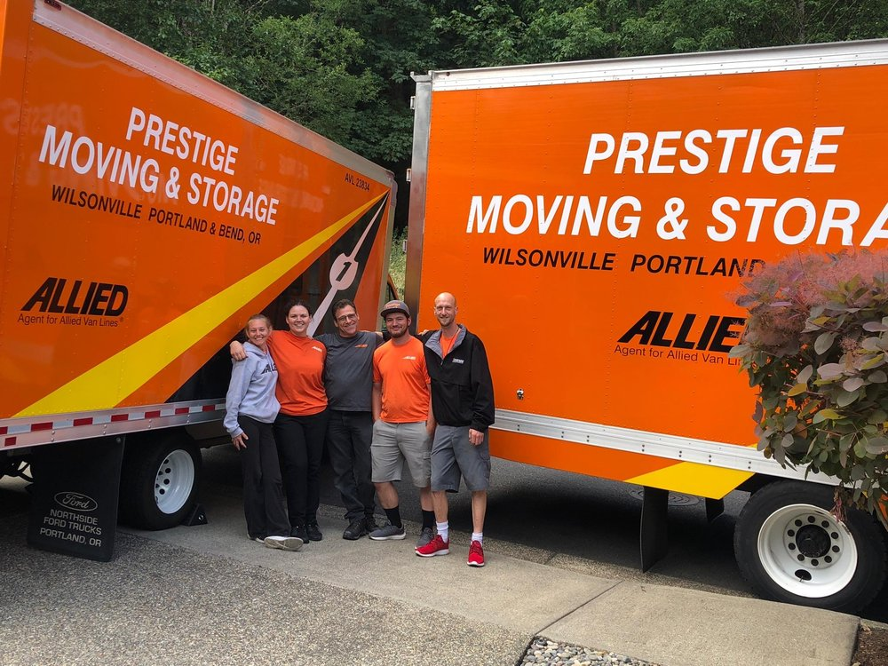 Prestige Moving and Storage: 7930 SW Burns Way, Wilsonville, OR