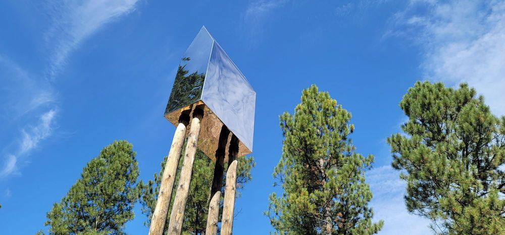Blackfoot Pathways:Sculpture in the Wild: 1970 Sculpture Way, Lincoln, MT