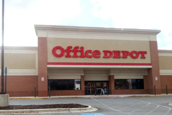 Photo Of Office Depot Clinton Md United States From Parking Lot