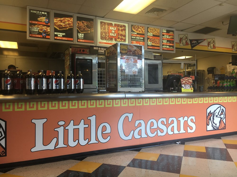 Find the best Little caesars pizza, around Denver,CO and get detailed driving directions with road conditions, live traffic updates, and reviews of local business along the way.