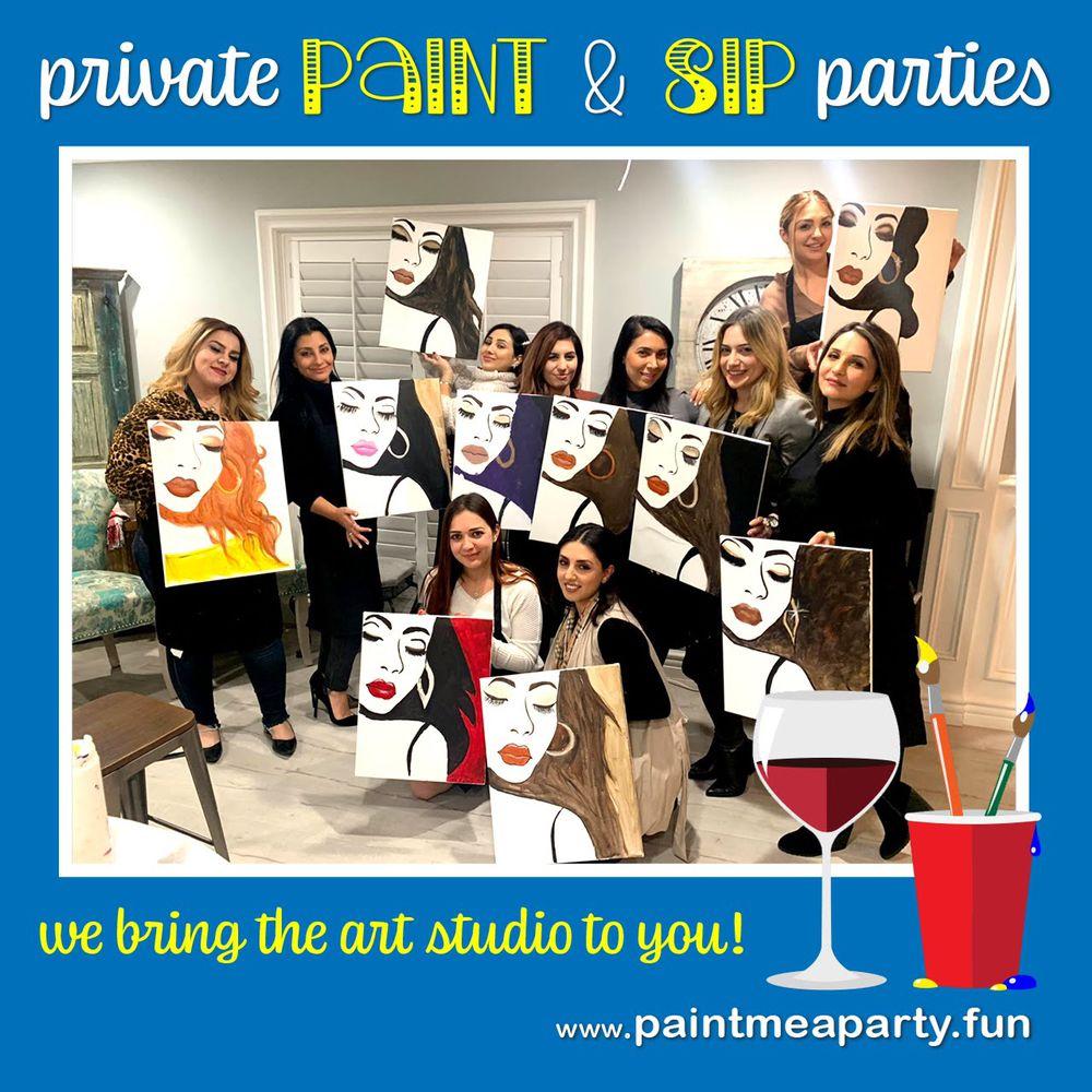 Paint Me a Party: Northridge, Los Angeles, CA