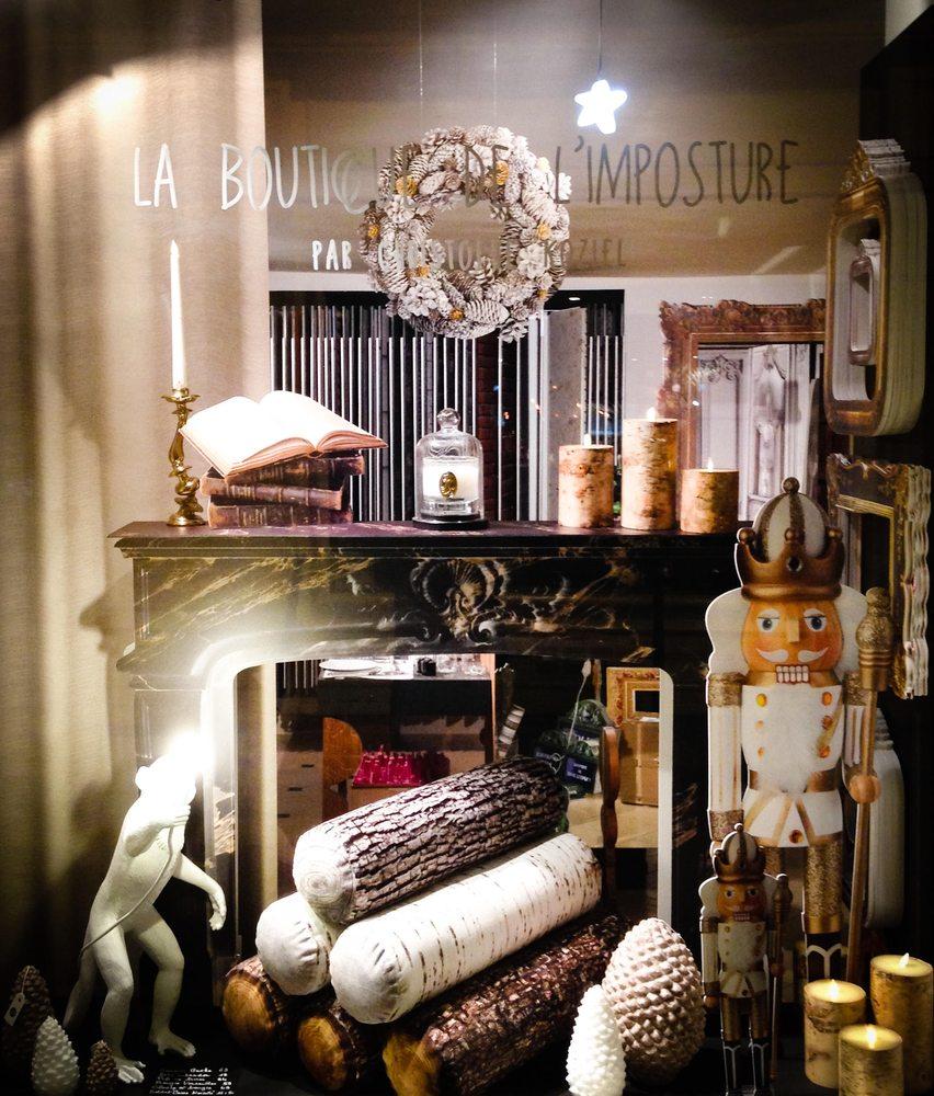 La boutique de l imposture 10 photos d coration d for Boutique de decoration paris