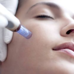 Have facial with extraction