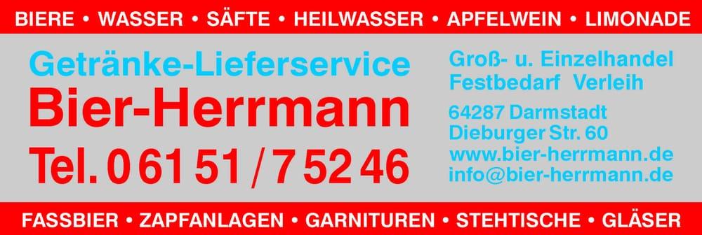 Bier-Herrmann - Getränkemarkt - Dieburger Str. 60, Darmstadt, Hessen ...