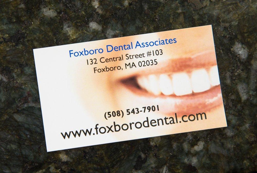 Foxboro Dental Associates: 132 Central St, Foxboro, MA