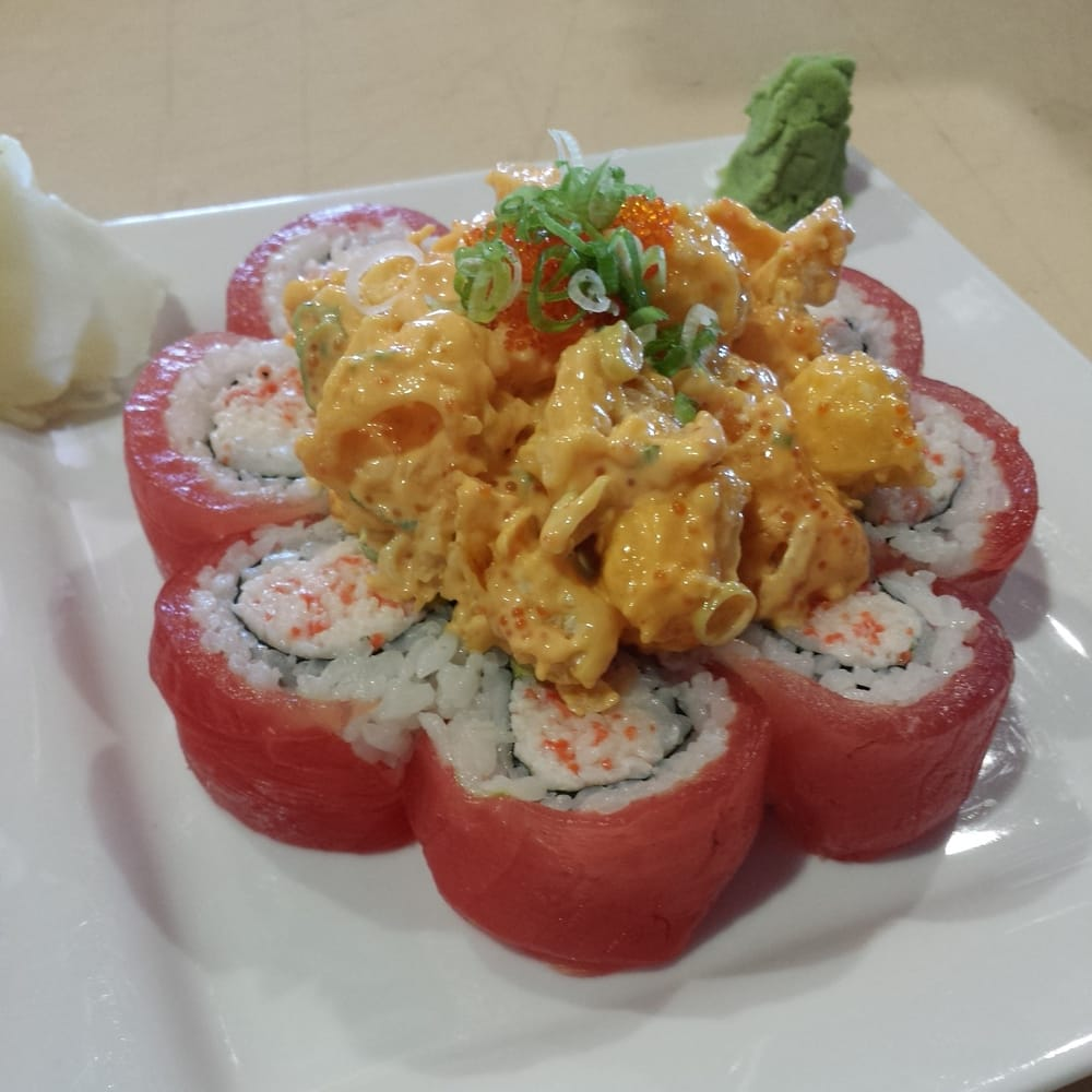 Angry fish sushi order food online 1066 photos 728 reviews sushi bars 16250 e 14th st for Cuisine 728
