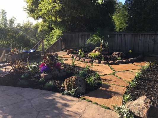 Photo Of Michel Landscaping Services.   San Carlos, CA, United States.  Flagstone