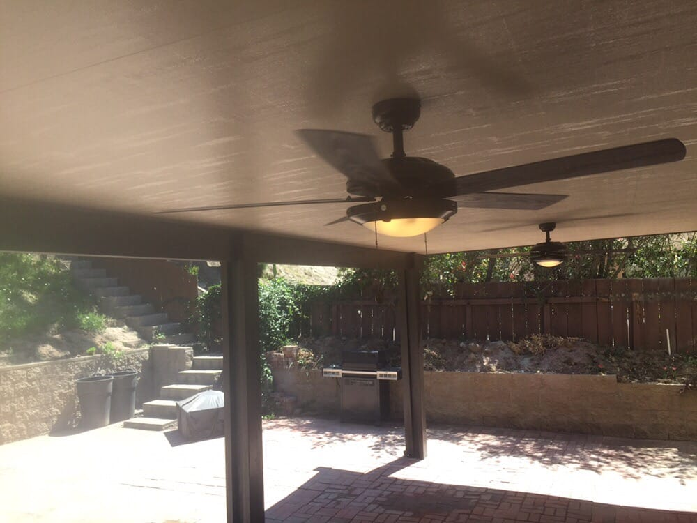 Insulated Solid Patio Cover Installed In La Mesa With A