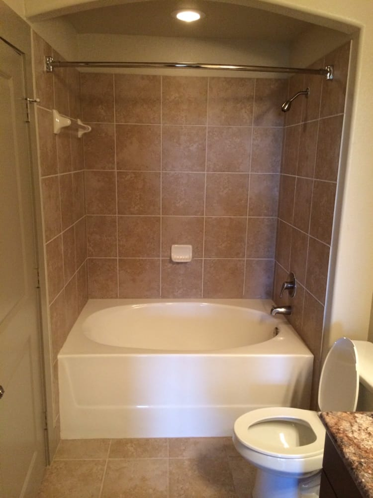 Garden tub. My only quibble is with the cheap shower heads. - Yelp