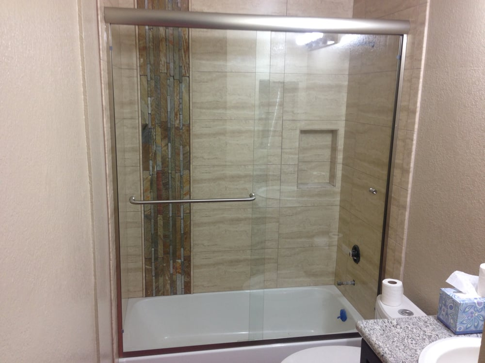 Bypass shower doors. 2500 with CW shield - Yelp