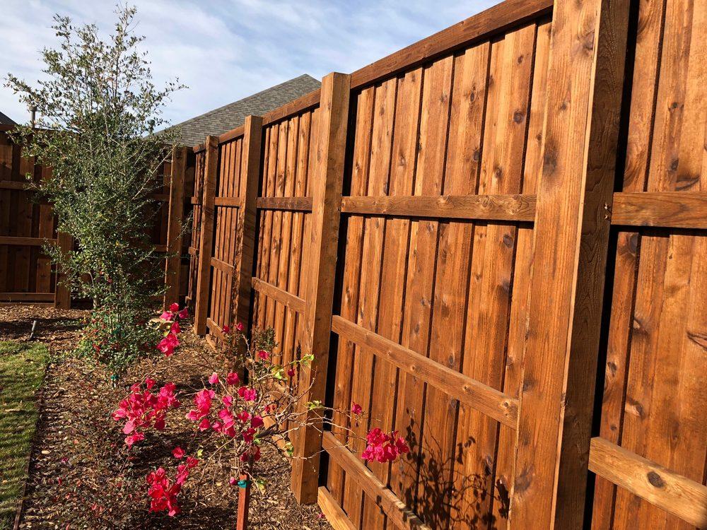 Frisco Fence: 110 Rose Ln, Frisco, TX