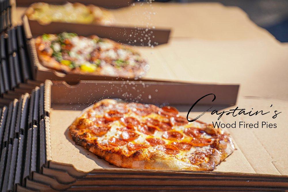 Captian's Wood Fire Pies