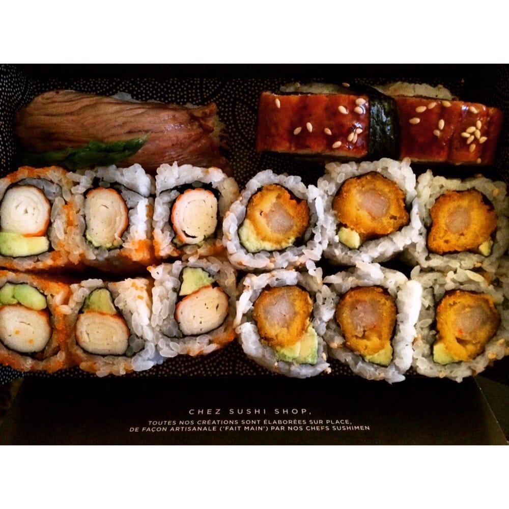 Sushi shop 14 foto cucina giapponese 86 rue saint for Lg store paris