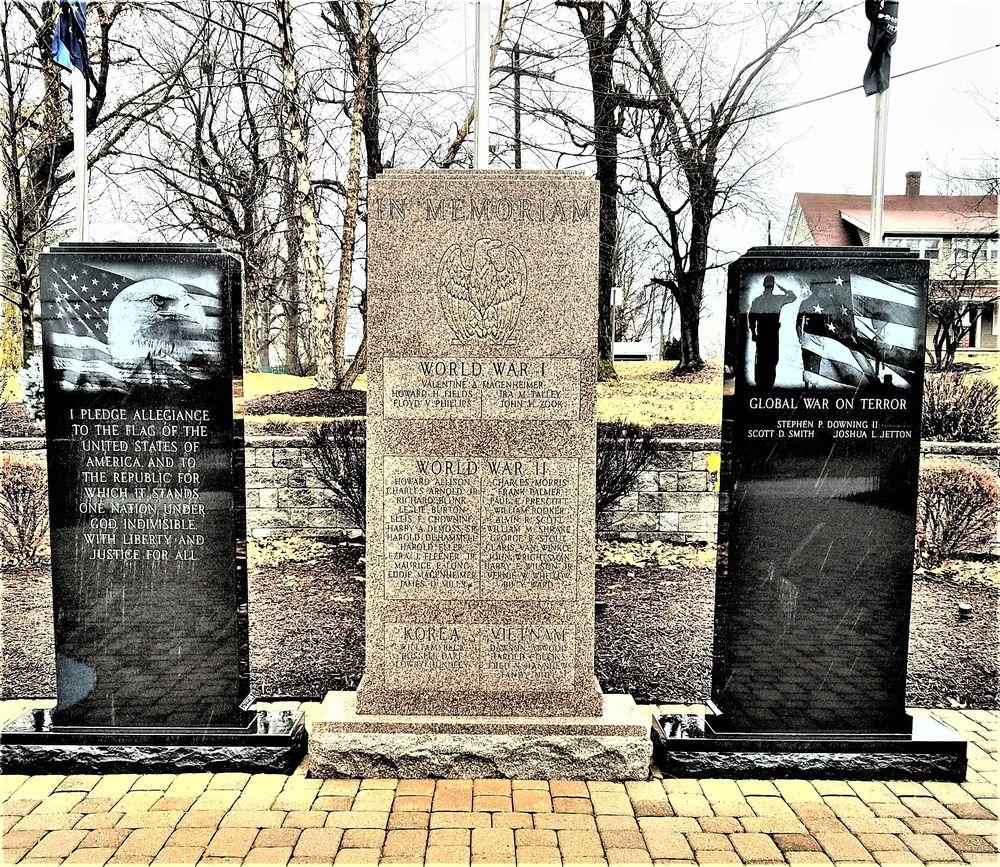 Mooresville Veterans Memorial: 210 Memorial Dr, Mooresville, IN
