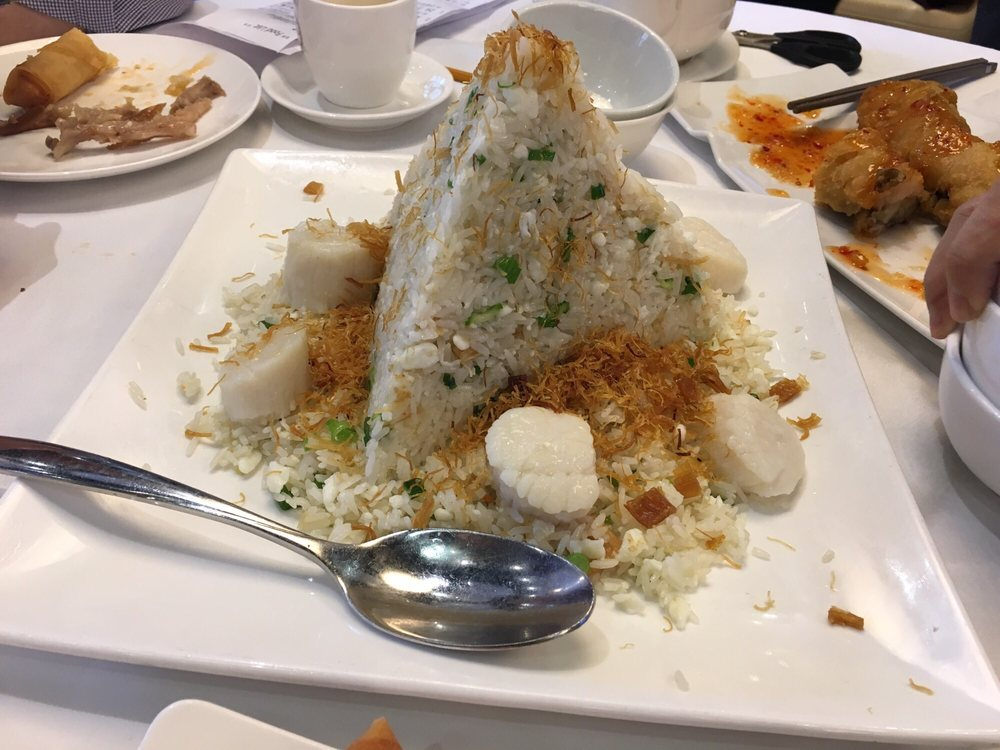 Scallop fried rice yelp for Ajk chinese cuisine