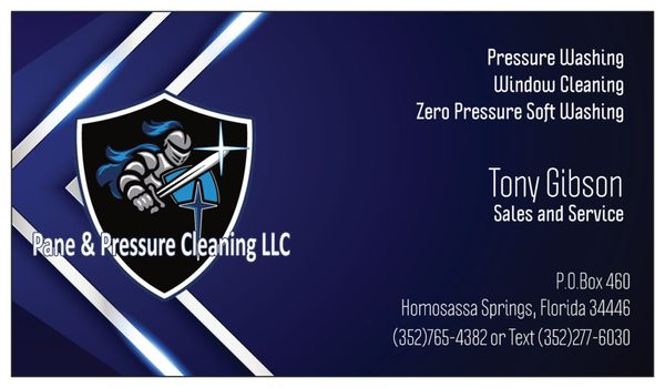 Pane and Pressure Cleaning LLC Homosassa, FL Window Cleaning