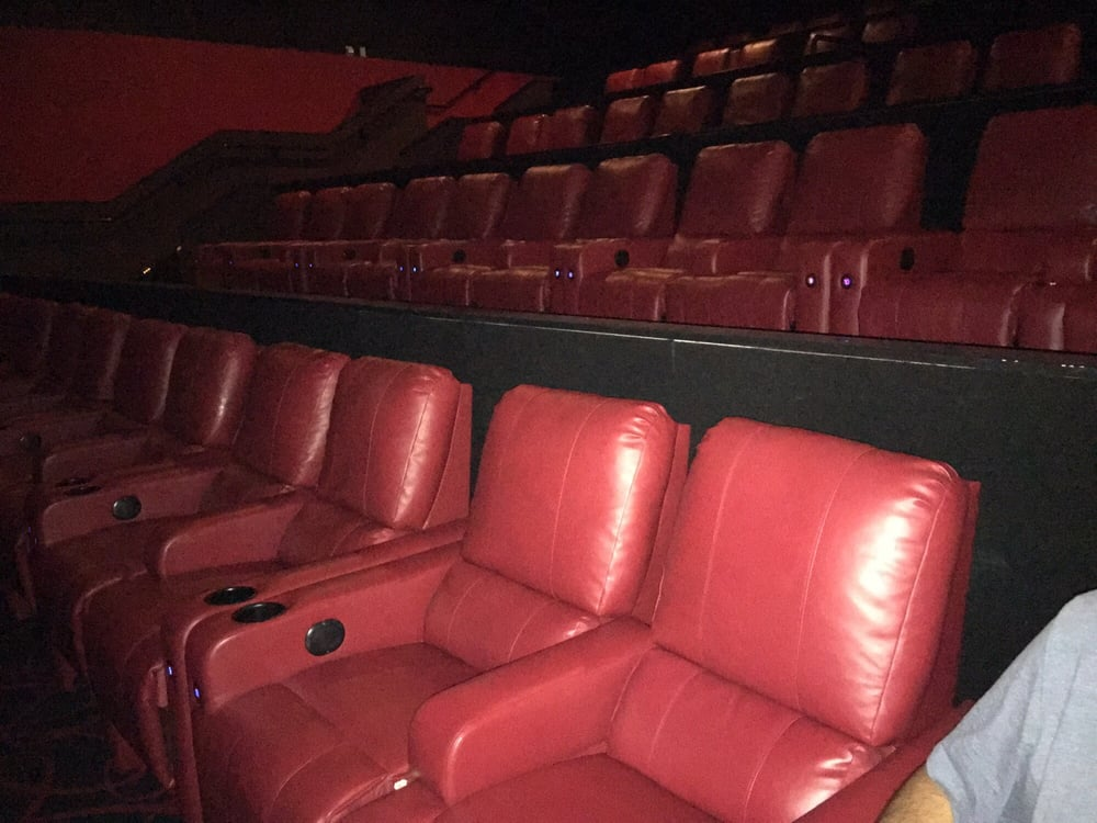 They Added Reclining Chairs In The Theater Awesome Yelp