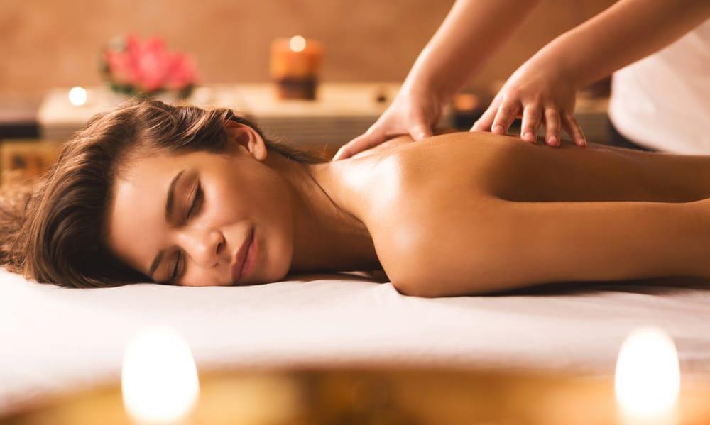 långt hår sensuell massage stor
