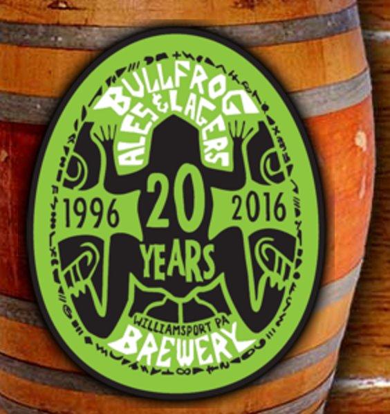 Bullfrog Brewery: 229 W 4th St, Williamsport, PA