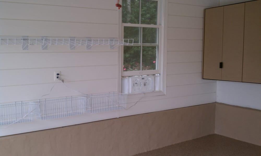 photos for garage design solutions yelp garage shelving