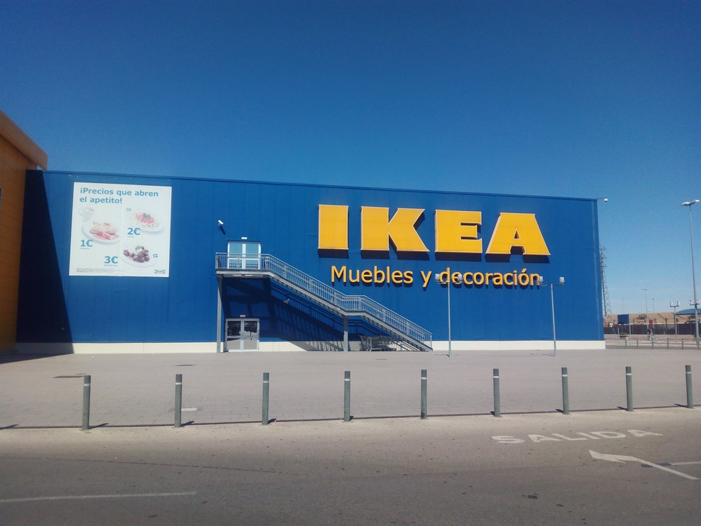 ikea m belbutiker centro comercial luz shopping jerez de la frontera c diz spanien. Black Bedroom Furniture Sets. Home Design Ideas