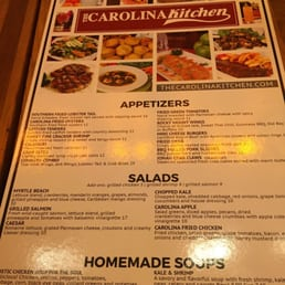 photo of carolina kitchen washington dc united states menu - Carolina Kitchen Menu