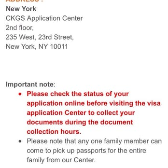 CKGS Visa Application Centre - New York - 17 Photos & 236