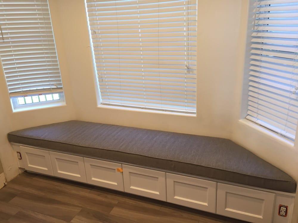 Custom Cushion For Bay Window Seat Yelp