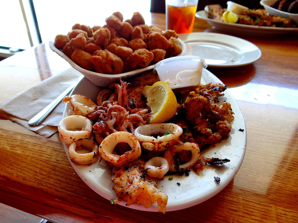 captain 39 s triple play conch mahi calamari yelp
