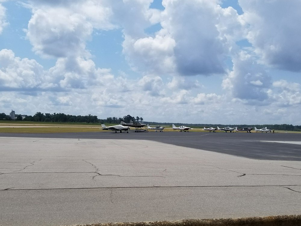 Orangeburg Municipal Airport: 1811 Airport Rd, Orangeburg, SC