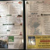 Good Harvest Cafe Crescent City Menu