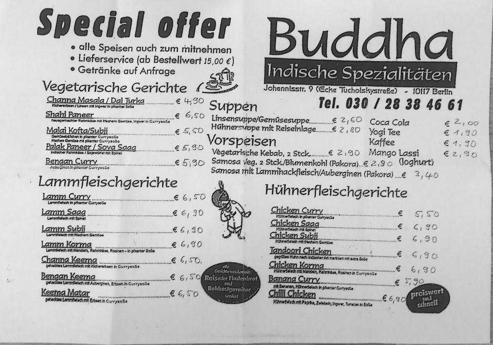 Buddha - 18 Reviews - Indian - Johannisstr. 9, Mitte, Berlin ...