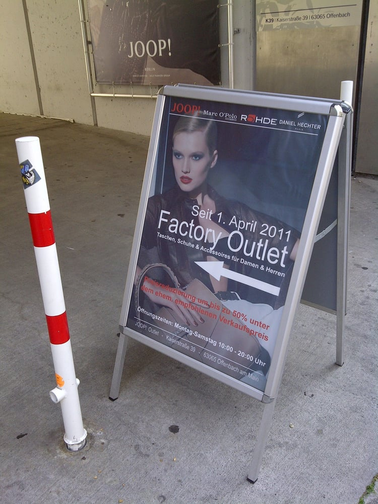 Fotos zu goldpfeil factory outlet yelp for Elektriker offenbach
