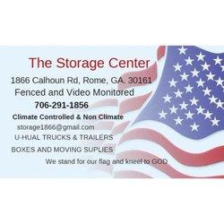 Photo of The Storage Center - Rome GA United States  sc 1 st  Yelp & The Storage Center - Self Storage - 1866 Calhoun Rd NE Rome GA ...