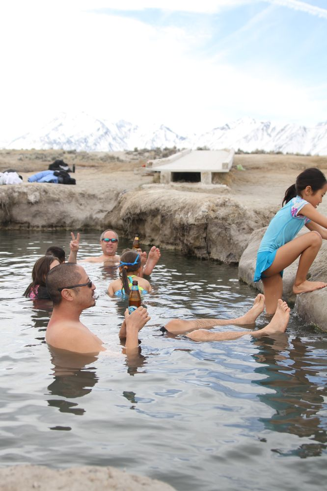 Wild Willy's Hot Spring: Hwy 395 Benton Crossing Rd, Mammoth Lakes, CA