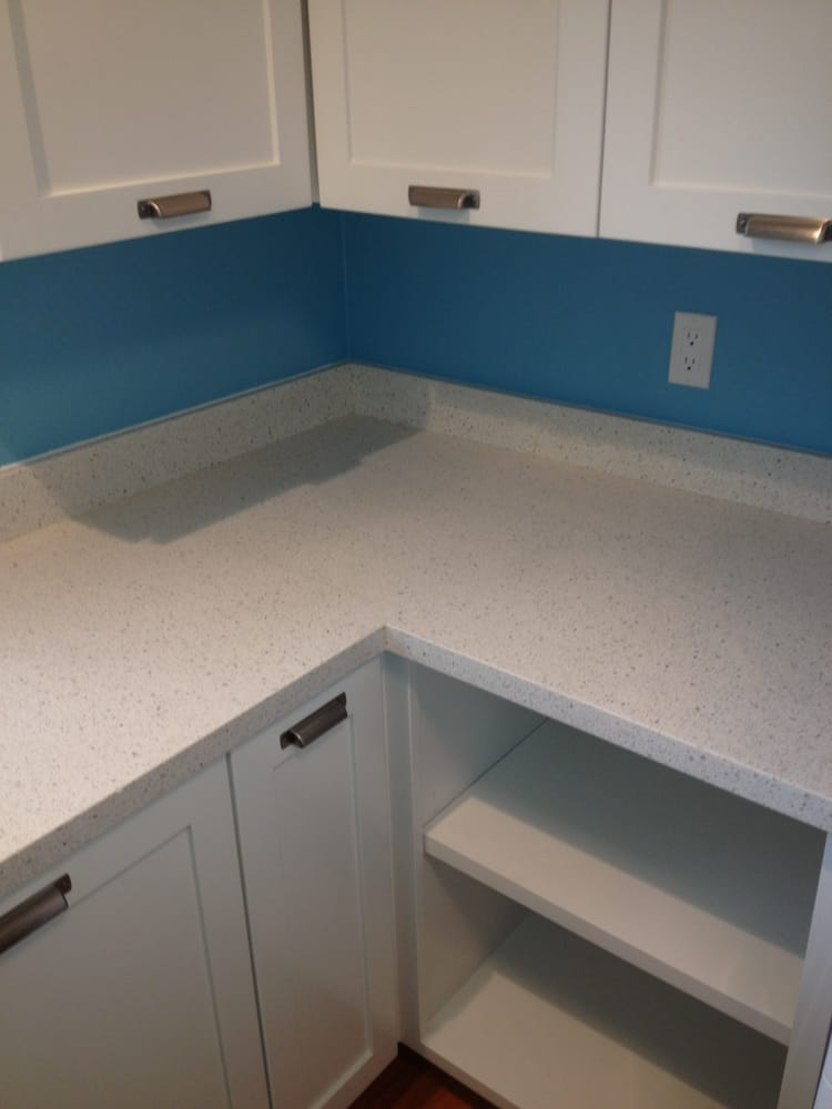 Photo Of GLF Enterprises   Soquel, CA, United States. Iced White Quartz  Countertop