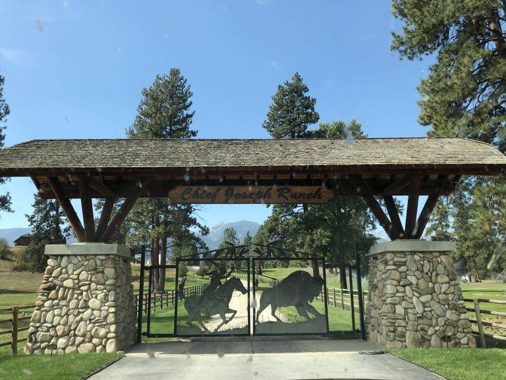Chief Joseph Ranch: Darby, MT