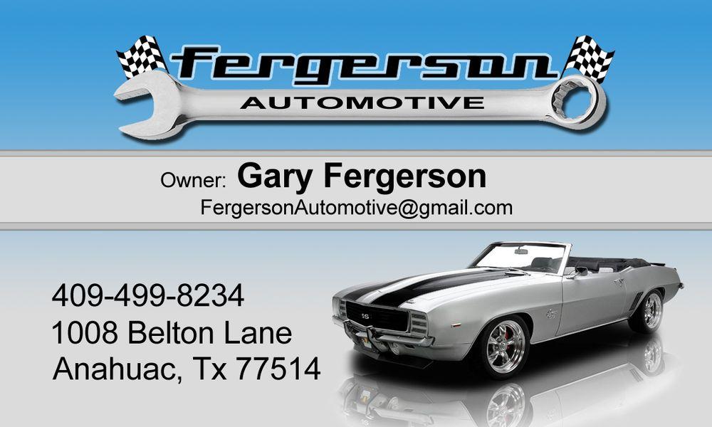 Fergerson Automotive: 1008 Belton Ln, Anahuac, TX