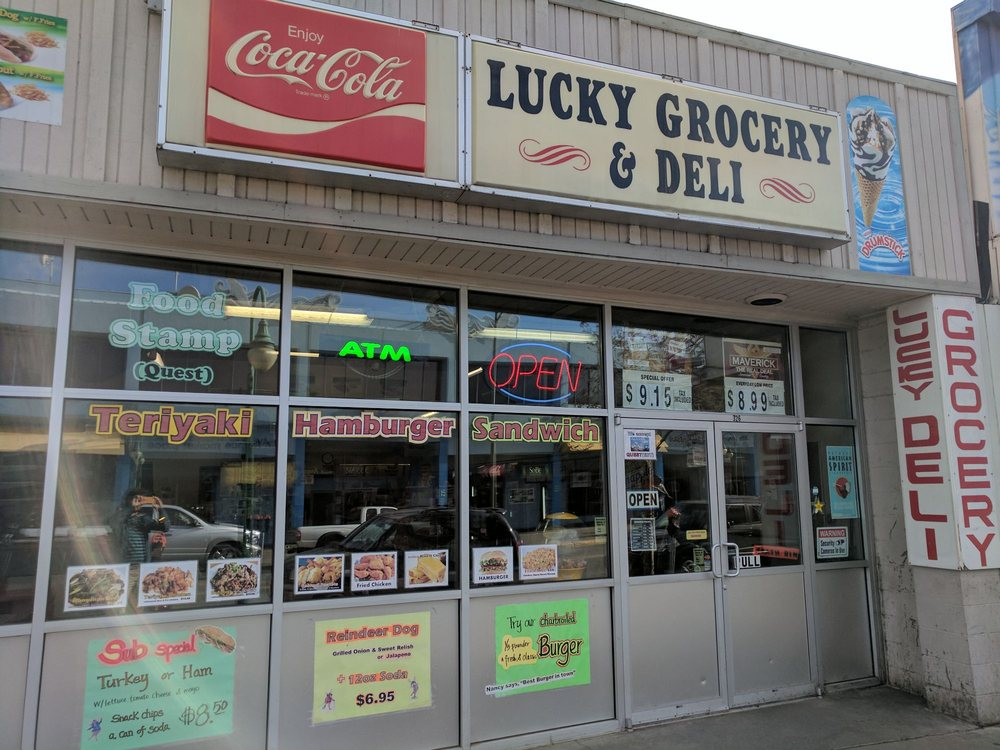 Lucky Grocery & Deli: 326 W 4th Ave, Anchorage, AK
