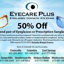 e17301e112 Eyecare Plus - Murfreesboro - Optometrists - 419 Memorial Blvd ...