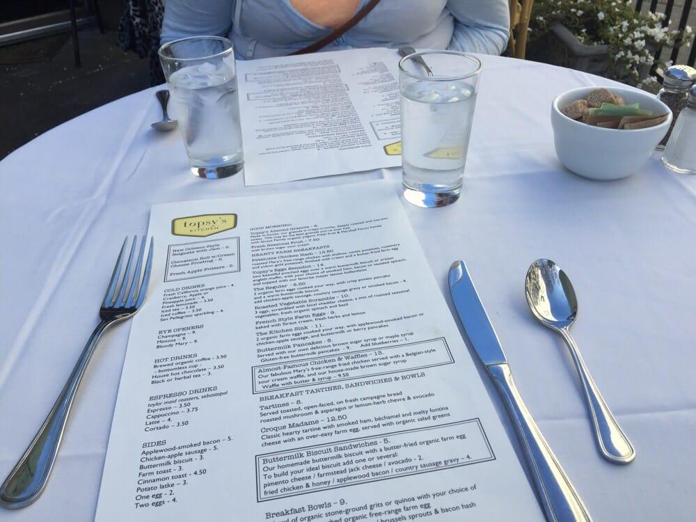 Topsy S Kitchen Petaluma Ca