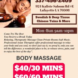 Amusing asian massage lafayette la