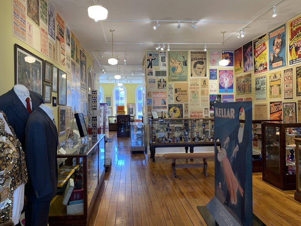 American Museum of Magic: 107 E Michigan Ave, Marshall, MI