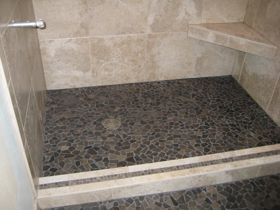 small flat stone shower floor yelp. Black Bedroom Furniture Sets. Home Design Ideas