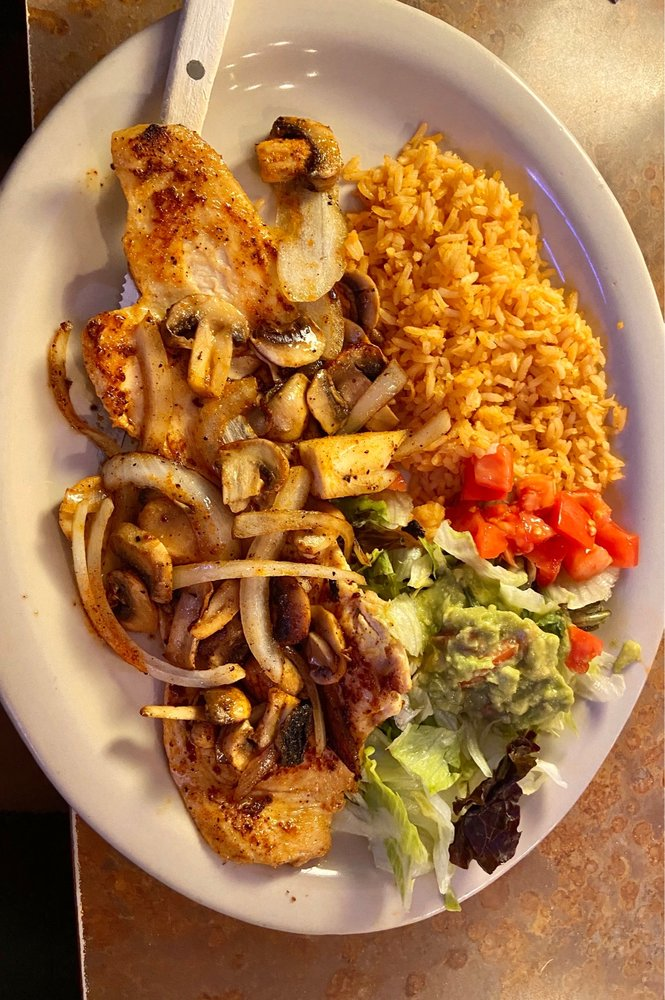 Food from El Campesino Mexican Restaurant