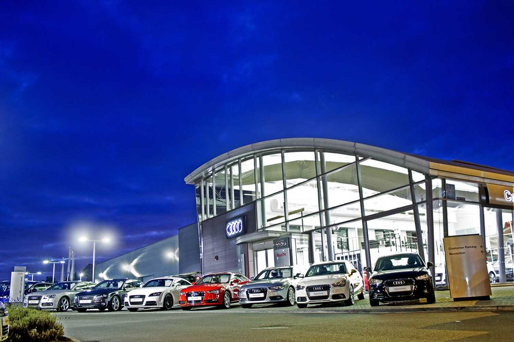 Coventry Audi Car Dealers 503 Fletchamstead Highway