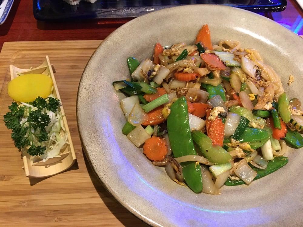 Yaki soba veggie yelp for Akane japanese fusion cuisine